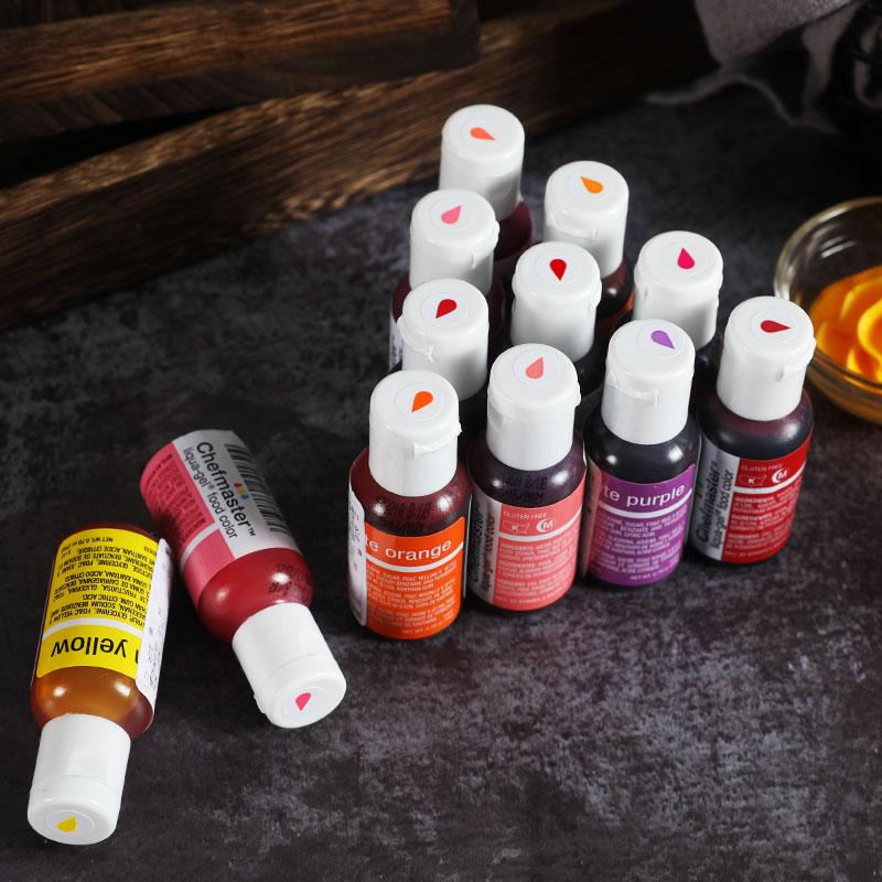 Chefmaster Food Coloring Cream Cake Fondant Cake Baking Ingredients Color Food Coloring 20g Home Kitchen Baking