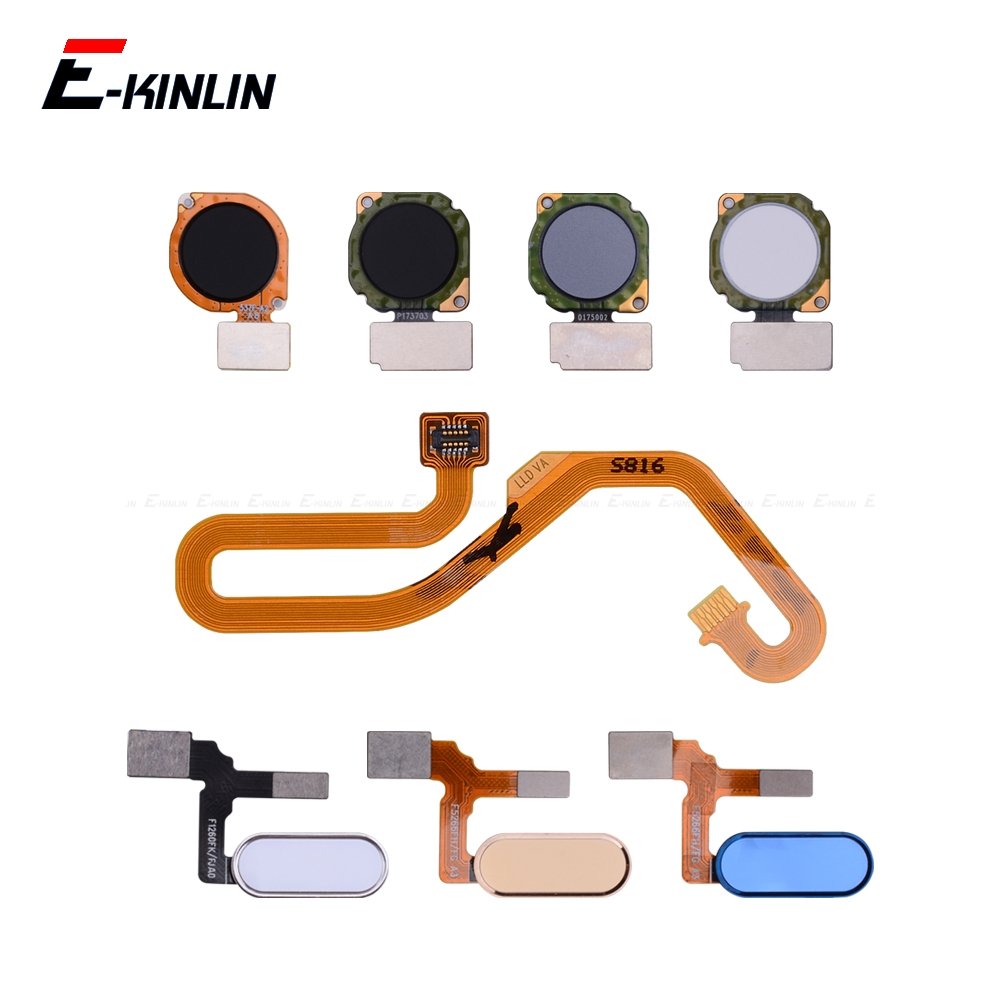Fingerprint Scanner Connector For HuaWei Honor View 20 10 9i 9 Lite Touch Sensor ID Home Return Button Key Connection Flex Cable