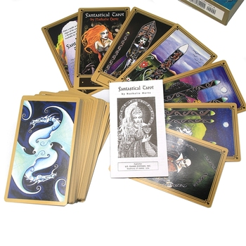78 Cards Deck Fantastical Tarot with Guidebook Divination Fate Family Party Board Game Oracle Card  недорого