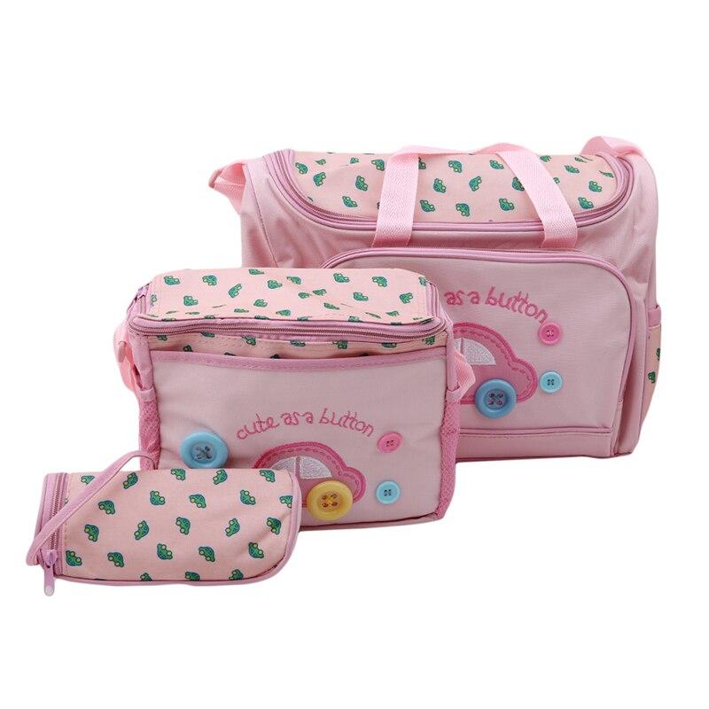 Высокое качество, детские трусики с мультяшным автомобилем, 3 шт./компл. многофункциональный Мумия сумка для детских подгузников, сумка для