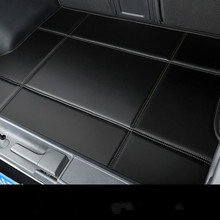 Waterproof Carpets Durable Rugs Custom Special Car Trunk Mats for Toyota Venza FJ Cruiser Sienna Tundra Sequoia Yaris Highlander best quality special trunk mats waterproof durable leather carpets for toyota highlander 2014 2015 2016 2017