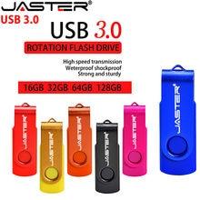 JASTER-unidad Flash USB de alta velocidad, unidad Flash Usb de rotación de 4GB, 8GB, 16GB, 32GB, 64GB, 3. 0
