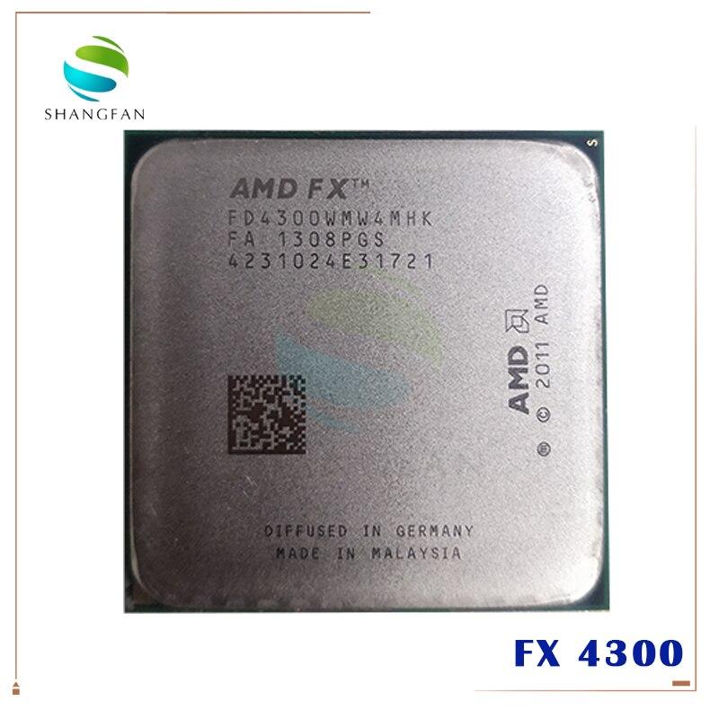 Amd Fx Series Fx4300 3 8ghz Quad Core Cpu Processor Fx 4300 Fd4300wmw4mhk 95w Socket Am3 Amd Fx Series Fx 4300processor Fx Aliexpress