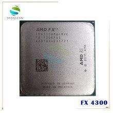 AMD FX-series FX4300 3,8 GHz Quad-Core CPU procesador FX 4300 FD4300WMW4MHK 95W hembra AM3 +