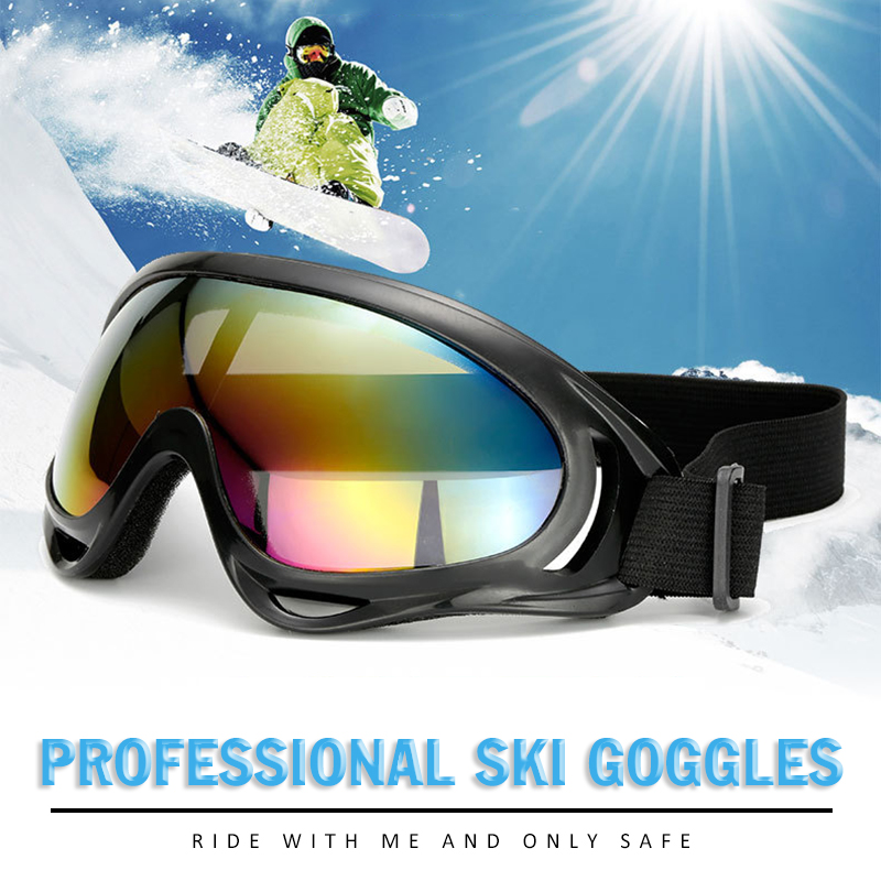 Winter Windproof Skiing Glasses Goggles Outdoor Sports Cs Glasses Ski Goggles UV400 Dustproof Moto Driver Cycling Sunglasses