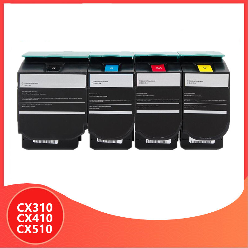 Compatible For Lexmark Cx310 Toner For Lexmark CX310 CX410 CX510 CX310dn CX410dte CX510de CX 310 410 510