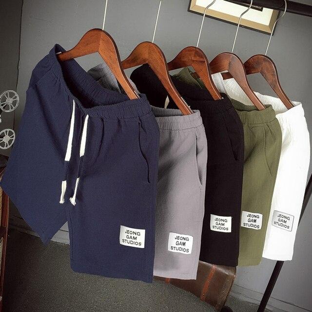 Fashion Shorts Men Summer Boardshorts Breathable Male Casual Shorts Comfortable Plus Size Brand Fitness Mens Sport Shorts