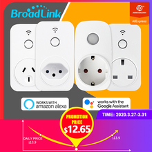 Broadlink Newest SP2 SP3 WiFi Smart Socket ZA IN BR UK AU EU Plug Work with Alexa Google Home Smart Home APP Remote Control