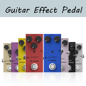 Guitar Effect Pedal Mini Single DC 9V for Electric Guitar with Intensity Rate Control True Bypass Guitar Pedal moen compressor guitar effect pedal vol comp eq controls ture bypass stompbox for electric guitar