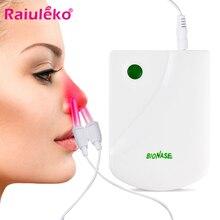 Прокси BioNase массаж носа тела Уход за носом терапия машина для носа, для лечения ринитов синусит лечение Сенной жар низкочастотный импульсный лазер