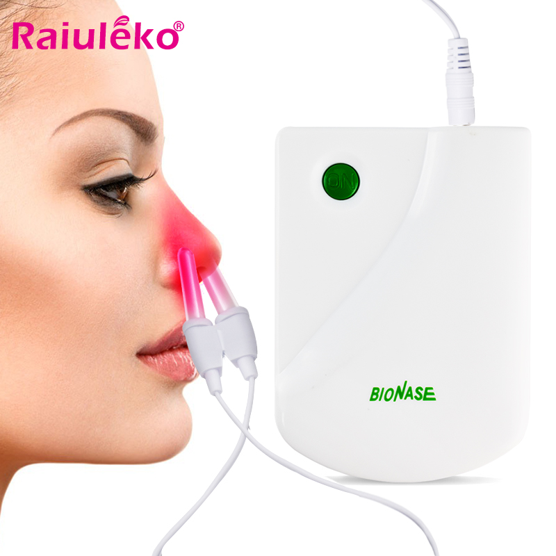 Proxy BioNase Body Nose Massage Nose Care Therapy Machine Nose Rhinitis Sinusitis Cure Hay Fever Low Frequency Pulse Laser