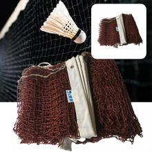Polyester  Practical Easily Install Badminton Net Replacement Replacement Badminton Net Foldable   for Outdoor