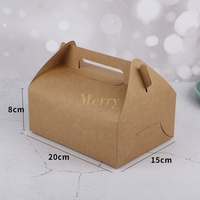 Wholesale 5000PCS Kraft Paper Handle Packaging Box