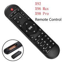 Alta qualidade ir controle remoto universal para android caixa de tv x98pro x96max x92 conjunto caixa superior substituição controle remoto
