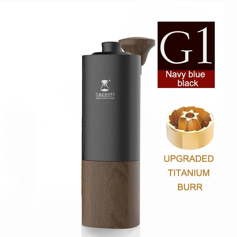TIMEMORE Chestnut G1 Manual Coffee Grinder Upgrade Titanium Coating Burr Minimalism Best Coffee Grinder For  Pour Over Espresso