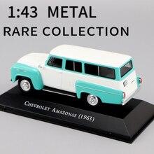 DIECAST TOYS COLLECTION CHEVROLET 1:43-Ixo Car-Model 1963 AMAZONA