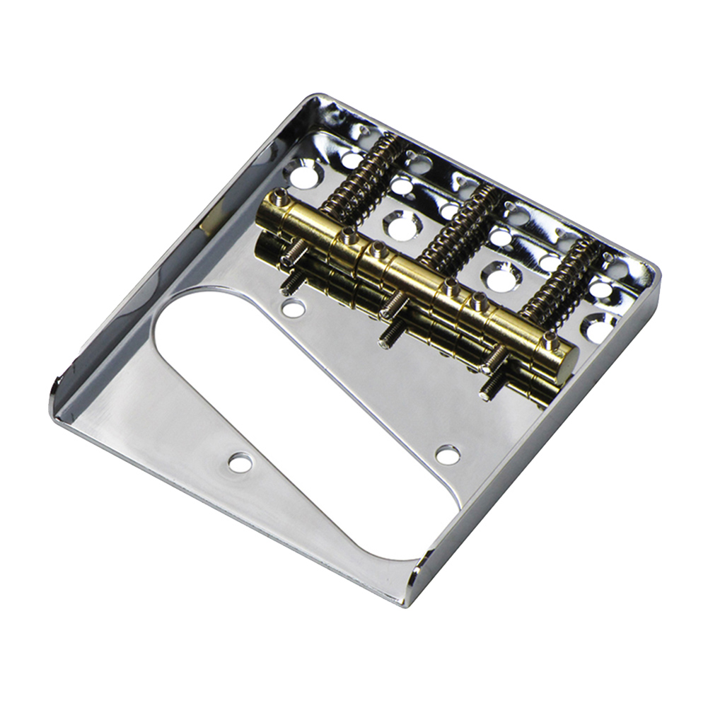 Vintage Tele Ashtray Style Electric <font><b>Guitar</b></font> Bridge 6 Saddles for <font><b>Telecaster</b></font> <font><b>Guitars</b></font> Accessories WHShopping image