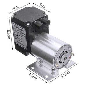 Image 2 - Mini bomba de aire de vacío eléctrica, bomba de diafragma de succión de alta presión, 5l/min, 80kPa, CC, 12V, con soporte para la industria química, 1 ud.