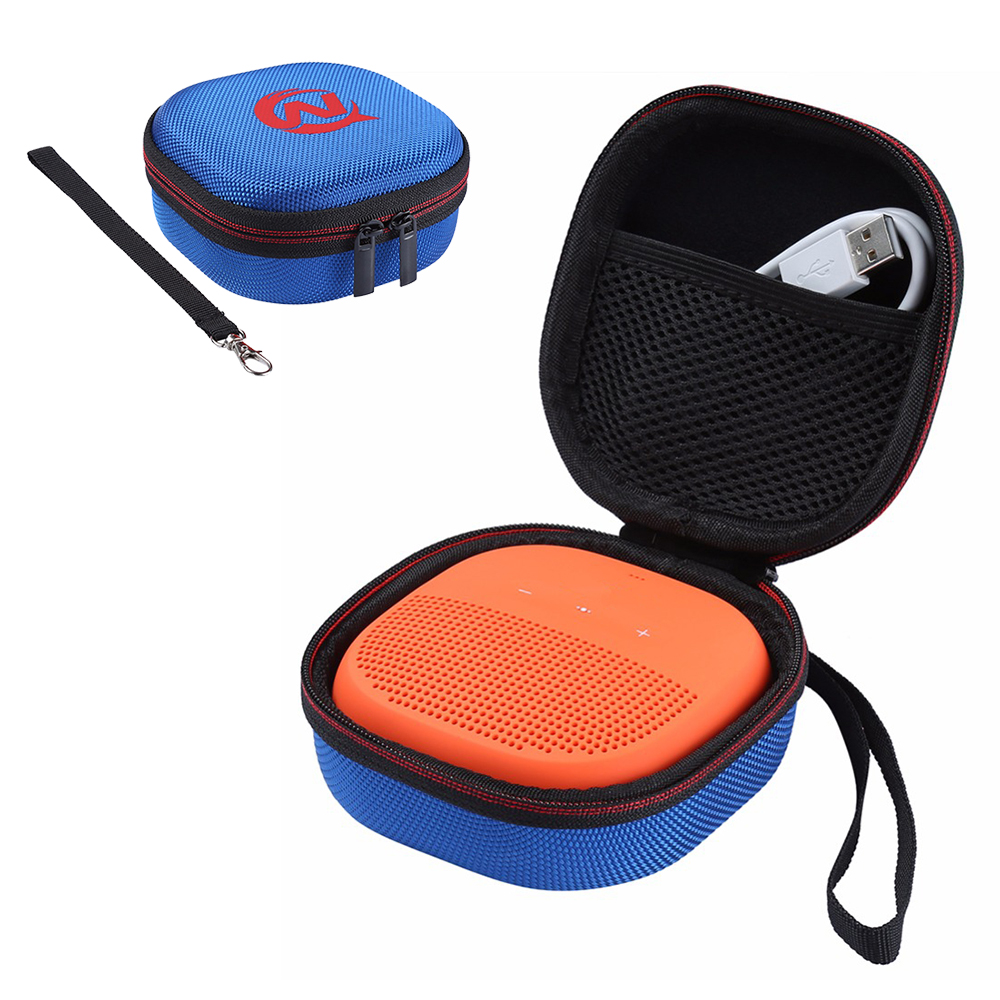 Carry Protective Speaker Case Cover Box Pouch Bag For Bose SoundLink Micro Wireless Speaker (only Case)