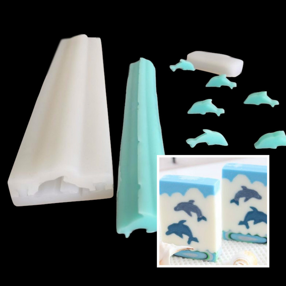 Christmas Tree Silicone Mold,Hand Soap Tube Model Long-Cylinder Cold Process Soap Dye Mousse Cake Roll Sandwich Mold 32CM