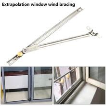 Защитное оконное крепление от ветра из нержавеющей стали, крепкое крепление для окон, крепкое крепление для окон, прочный ограничитель для блокировки окон