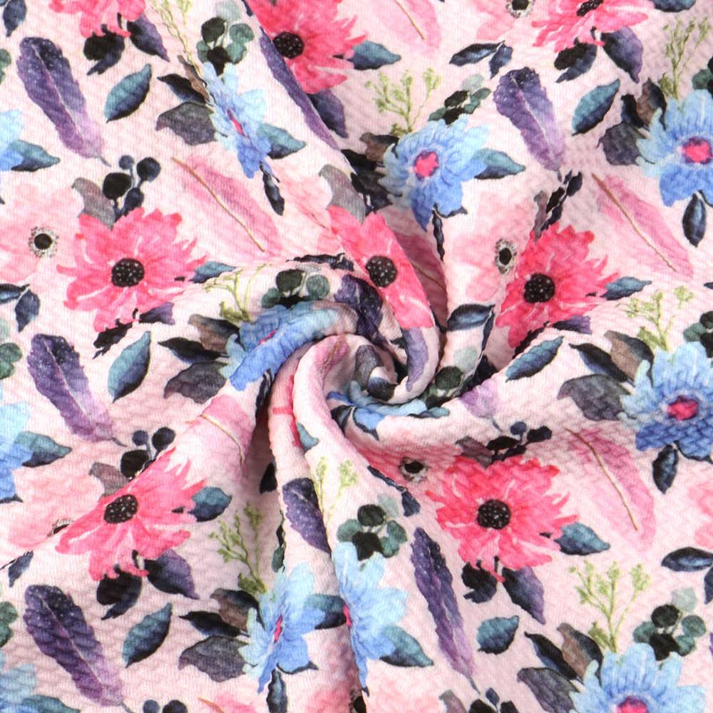 20*34cm çiçek mermi jakarlı dimi kabarcık örgü kumaş dikiş kapitone kumaşlar kaliteli iğne Liverpool kumaş, c10420