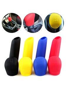 Gear Shift Case Handbrake-Grip Gear-Head-Shift-Knob-Cover Collars Manual Universal Colorful