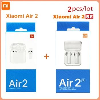 2 części partia AirDots Pro 2SE Xiaomi bezprzewodowy zestaw słuchawkowy Bluetooth TWS Redmi Airdots 2 S bezprzewodowy zestaw słuchawkowy mikrofon sterowanie głosem tanie i dobre opinie Tłok Zaczepiane na uchu Dynamiczny CN (pochodzenie) Prawdziwie bezprzewodowe 120dB Słuchawki do monitora Do gier wideo
