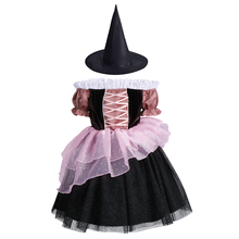 Girls Princess Dress Halloween Costume for Girls Kids Witch Fancy Dress Up Girls Birthday Clothes Halloween Cosplay Party Outfit women girls superhero alien starfire teen titans go outfit cosplay halloween costume princess koriand r suit xmas birthday gift