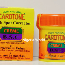 Carotone Acne And Black Spot Remover Cream 30g