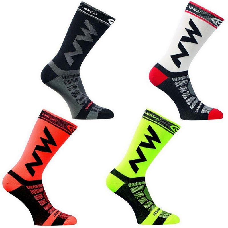 Professional Team Men Women Cycling Socks Outdoor Sports Mountain Bike Racing Socks Breathable Road Bicycle Socks