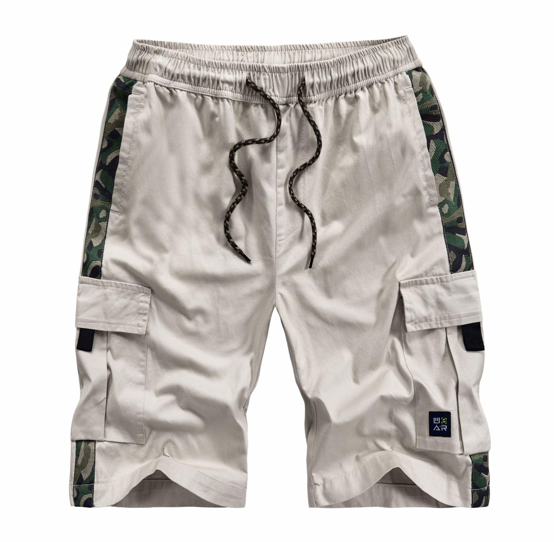 M-8XL Mens Cargo Shorts 2020 Summer Camo Short Cotton Sweatpants Men Camouflage Military Pantalon Corto Hombre