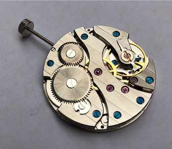 parnis 17 jewels mechanical 6497 hand-winding Movements fit for Men\'s watch jx01a - DISCOUNT ITEM  52 OFF Watches
