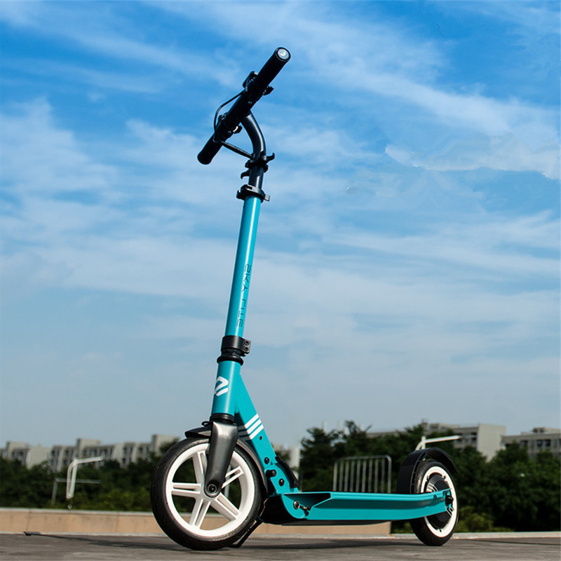 8 Inch Kick <font><b>Scooter</b></font> <font><b>Electric</b></font> Two Wheel <font><b>Electric</b></font> <font><b>Scooters</b></font> 48V <font><b>250W</b></font> Foldable <font><b>Electric</b></font> <font><b>Scooter</b></font> Adults With Double Brake System image