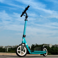 8 Inch Kick Scooter Electric Two Wheel Electric Scooters 48V 250W Foldable Electric Scooter Adults With Double Barke System