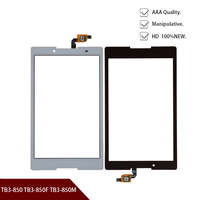 Touch Screen For Lenovo Tab3 8 Tab 3 8 850 TB3 850 TB3 850F TB3 850M Touchscreen Panel LCD Display Sensor Front Glass Lens Parts|Tablet LCDs & Panels| |  -