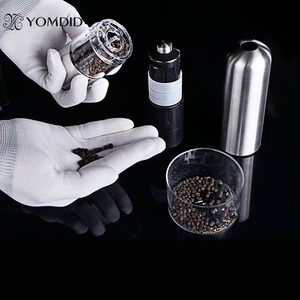 Image 4 - Stainless Steel Electric Salt Pepper Mill Spice Grinder Muller Kitchen Tool