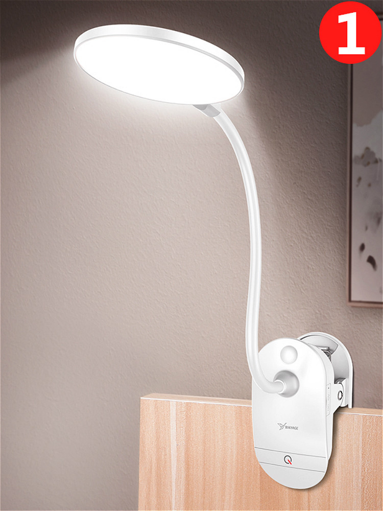 Table-Lamp Lamps-Table Led-Reading Study Flexo Rechargeable Wireless Clip Touch 3-Modes