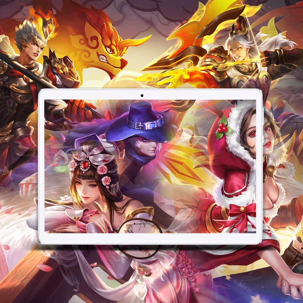 Anry Tablet 10 Inch MTK6797T X25 Android 8.1 8000Mah 1920*1200 Deca Core Wifi Gps 4G Telefoon call Tablet 10 Es Ru In Voorraad