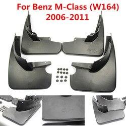 Błotniki samochodowe błotniki klapa błotna błotniki błotnik dla Benz klasa M klasa M W164 ML350 ML500 2006 2011 akcesoria samochodowe do stylizacji|Błotniki|   -