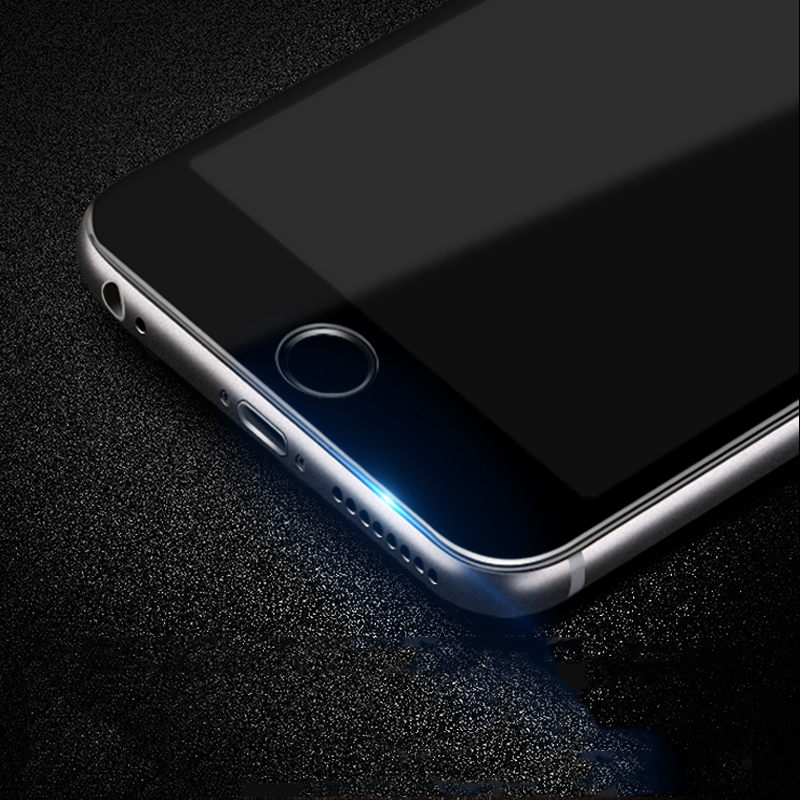 9D Curved Edge Full Cover Tempered Glass For iPhone 7 8 6 6S Plus Screen Protector on iphone7 iphone8 iphone6 iphone6s Glas Film 4