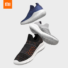 Flying Woven Walking Shoes Man Knit Breathable Fitness Running Sports Sneakers Mens Non-Leather Casual from Xiaomi youpin