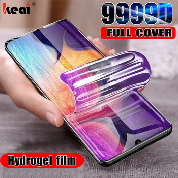 Hydrogel Film For Samsung Galaxy S10E S8 S9 S20 fe S21 Note 20 Ultra 10 Plus Screen Protector For A50 A51 A70 A71 A52 Not Glass 1