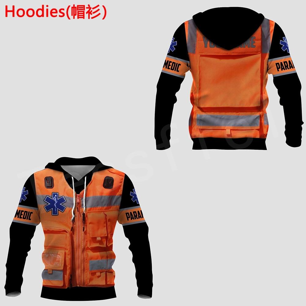Tessffel Emergency Medical Technician EMT EMS Paramedic NewFashion Unisex Pullover 3DPrint Sweatshirt/Hoodies/zipper/Jacket S-19
