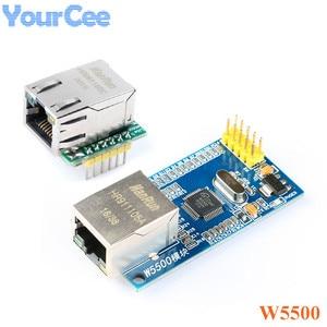 USR-ES1 W5500 SPI to LAN Ethernet Converter Network Module TCP / IP 51 / STM32 Microcontroller Program Over W5100
