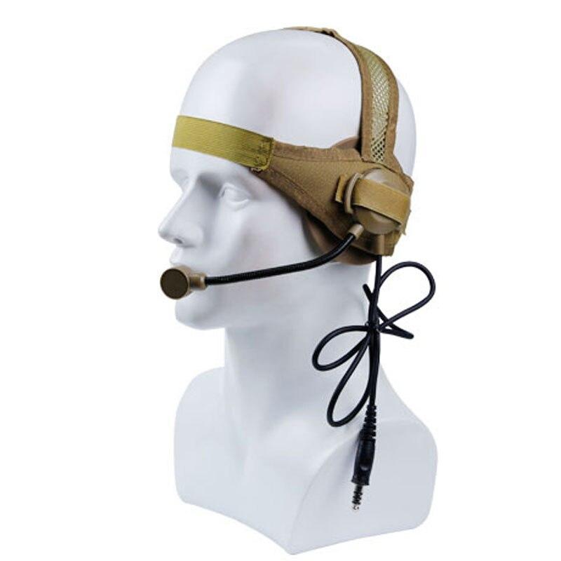 comunicacao fone de ouvido militar para walkie talkie 05