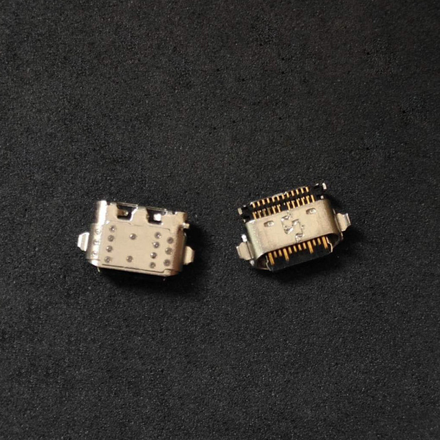 100 pz/lotto USB del Caricatore del Connettore Jack Presa di Ricarica Porta di Alimentazione Femmina Spina Per Motorola Moto G6