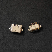 100 ピース/ロットusb充電器コネクタジャックソケット充電ポートメス電源プラグモトローラモトG6