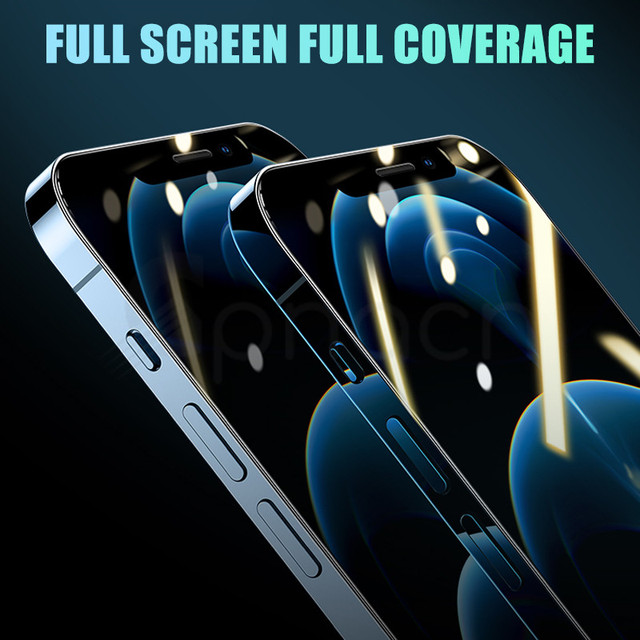 9H Tempered Protective Glass For iPhone 11 12 Pro XR X XS Max Screen Protector Film on iPhone 7 6 8 6s Plus 5 5S SE 2020 Glass 5