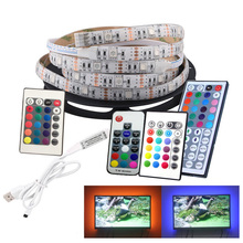 TV Background Light Strip, Decorative Light Strip, USB Light Strip, 2 Meters LED Light, Color Changing Soft Light Strip
